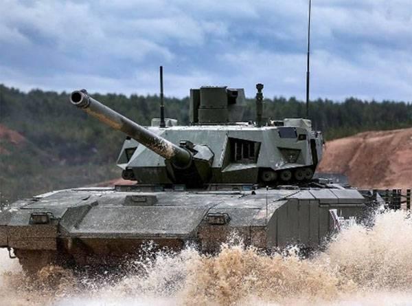 Стала известна дата начала опытной эксплуатации танка Т-14 «Армата»