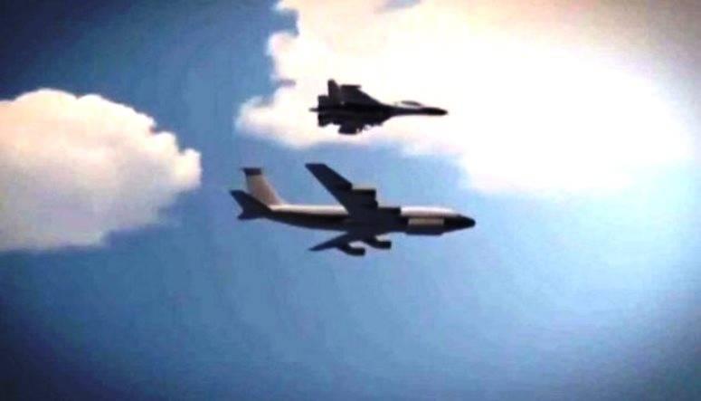 Минобороны РФ рассказало о перехвате американского RC-135