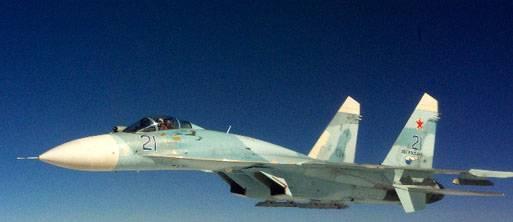 Су-27 не позволил натовскому истребителю приблизиться к самолёту с министром обороны РФ на борту