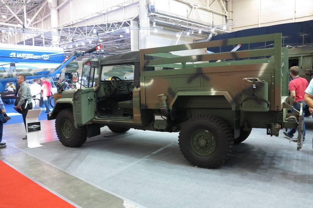Создали новый украинский грузовой автомобиль для военных