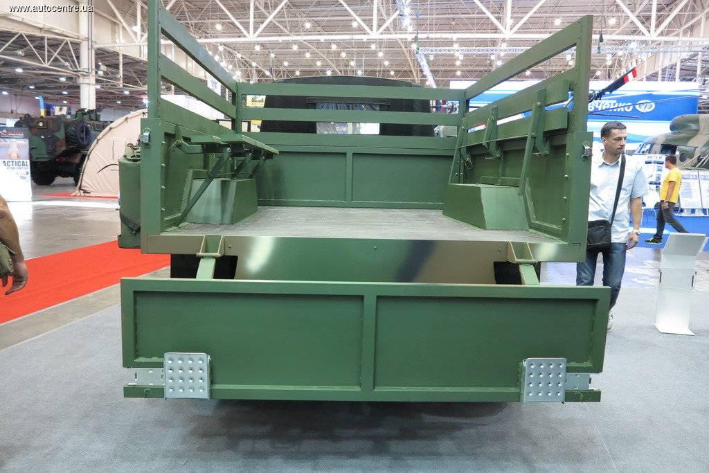 Стали известны детали нового украинского грузового автомобиля КМ-450
