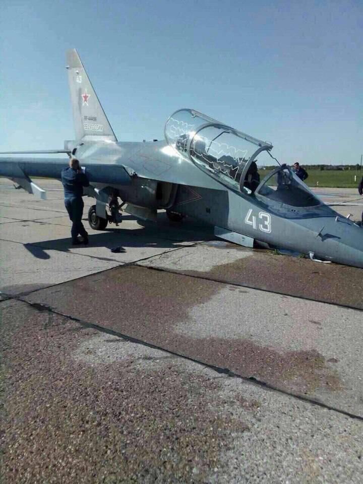 Череда аварий Як-130