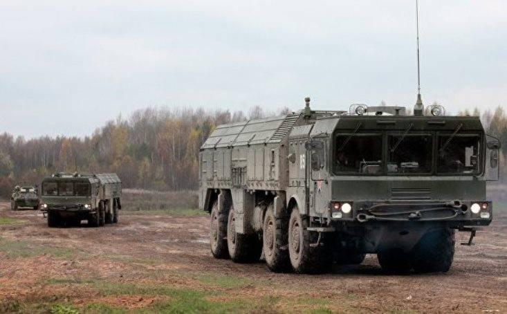 В ВВО прошло учение с задействованием ракетных комплексов «Искандер»