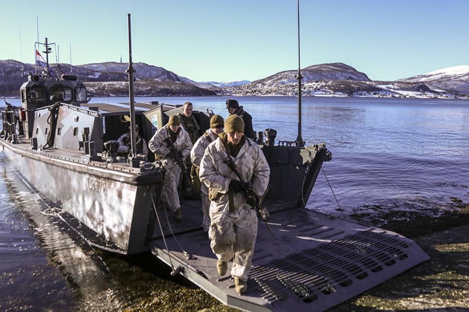 База морпехов США делает Норвегию невполне предсказуемым партнером— Посольство Российской Федерации