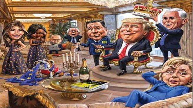Белый дом назвал разговоры охакерах изРФ попыткой подорвать легитимность Трампа