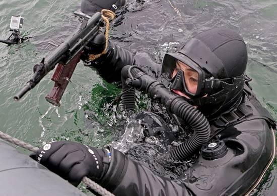 Боевые пловцы ТОФ проверили безопасность района базирования подлодок