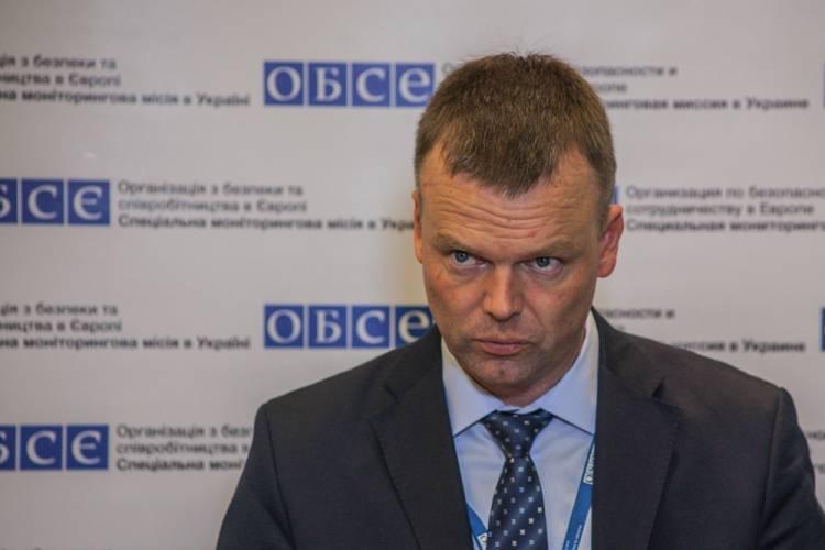В Донбассе сбили беспилотник ОБСЕ