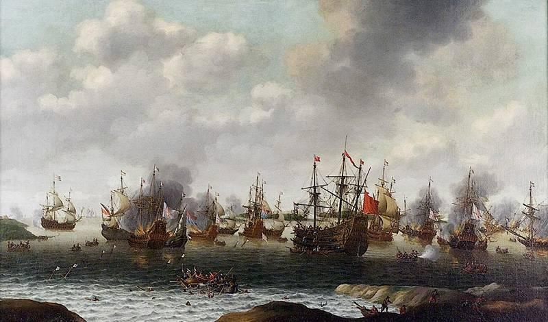 Чатемский рейд адмирала де Рюйтера