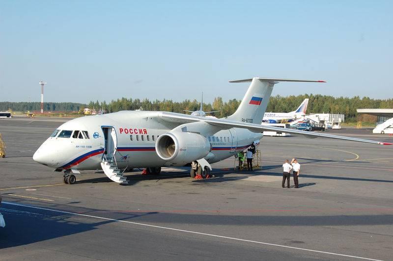 Российская Федерация прекратит общее с Украинским государством производство самолетов Ан-148