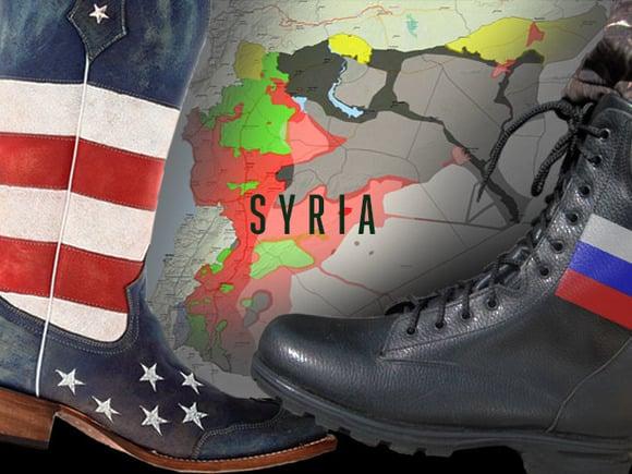 Сирийская война России и США