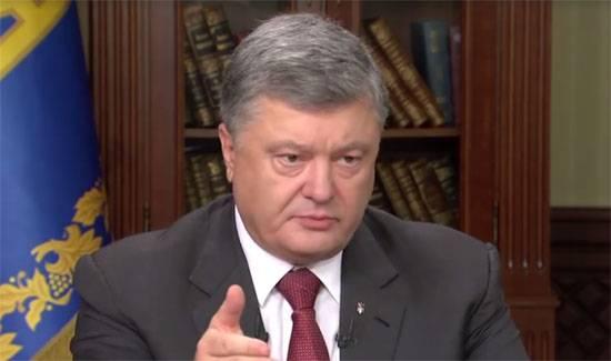 """""""Правдивый"""" Порошенко: После инаугурации я отдал приказ о прекращении войны на Донбассе"""