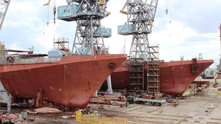 ОСК: судьба недостроенных фрегатов проекта 11356 прояснится в ближайшие недели