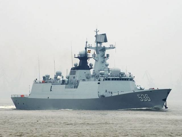 China's Navy commissioned the 24th Xuchang missile frigate of project 054A