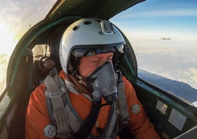 Истребители-перехватчики ВВО приступили к отработке парных  полетов