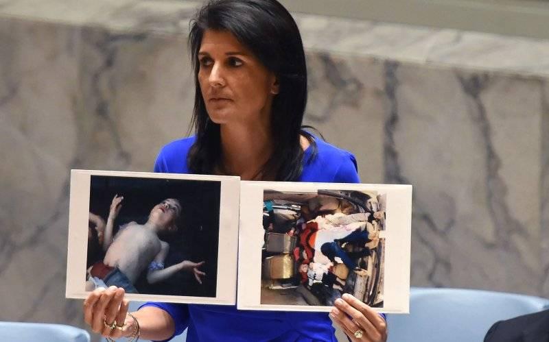 Эксперты считают провокацией заявления США о планах Асада совершить химатаку