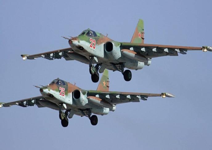 Экипажи Су-25 и Су24 отработают на юге России уничтожение десантных кораблей «противника»