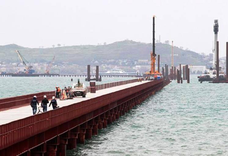 Новая РЛС контроля акватории может быть использована в районе Крымского моста