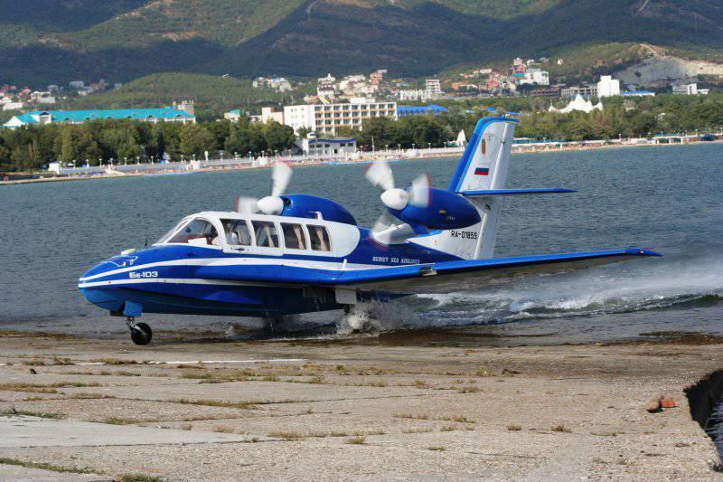 Китай закупил российские самолеты-амфибии