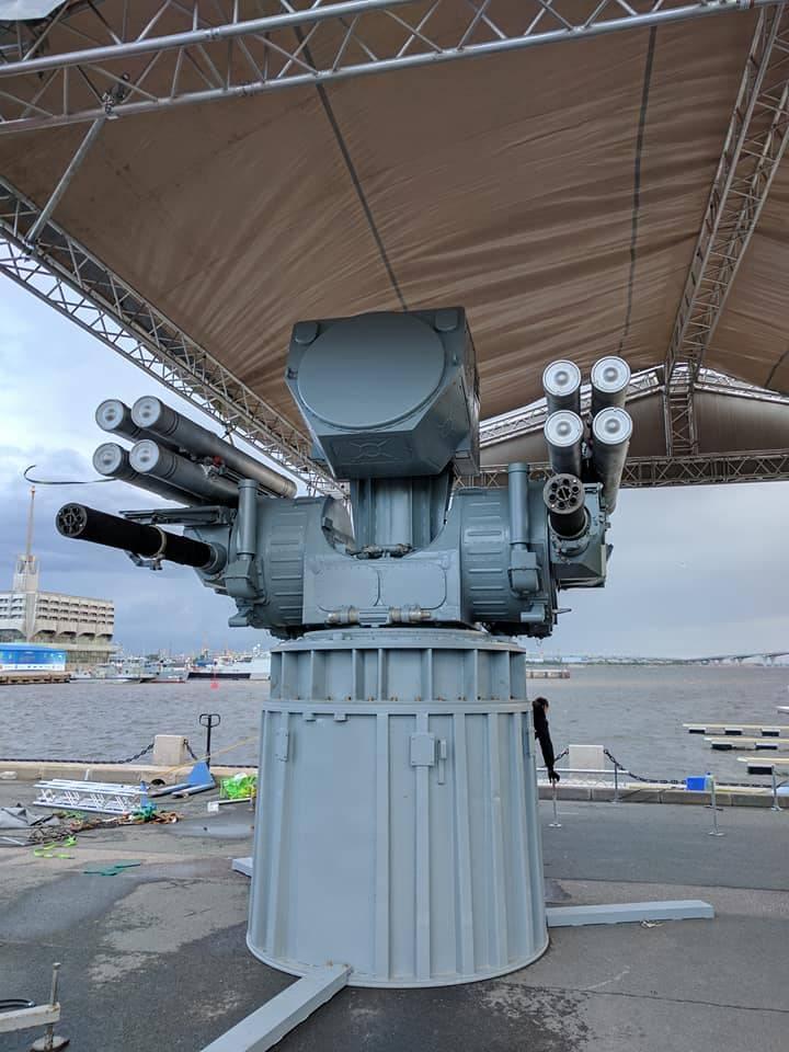Корабельный вариант ЗРПК «Панцирь-М» впервые попал на фото