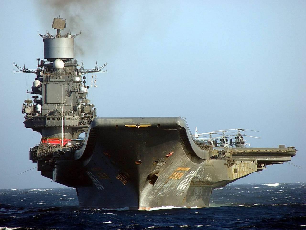 Авианосец «Адмирал Кузнецов» после ремонта прослужит еще 20 лет