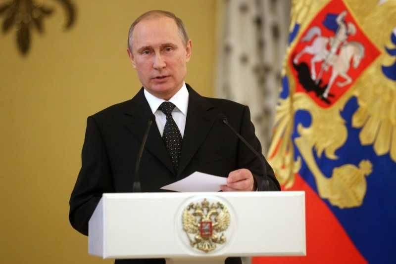 В.В. Путин выступил перед выпускниками высших военных учебных заведений РФ
