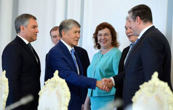 Пятнашки А.Атамбаева, или Появится ли российская военная база на юге Киргизии?