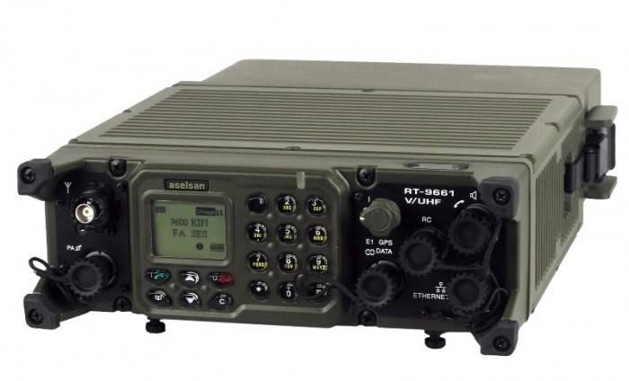 ВСУ принимает на обеспечение радиостанции турецкого производства