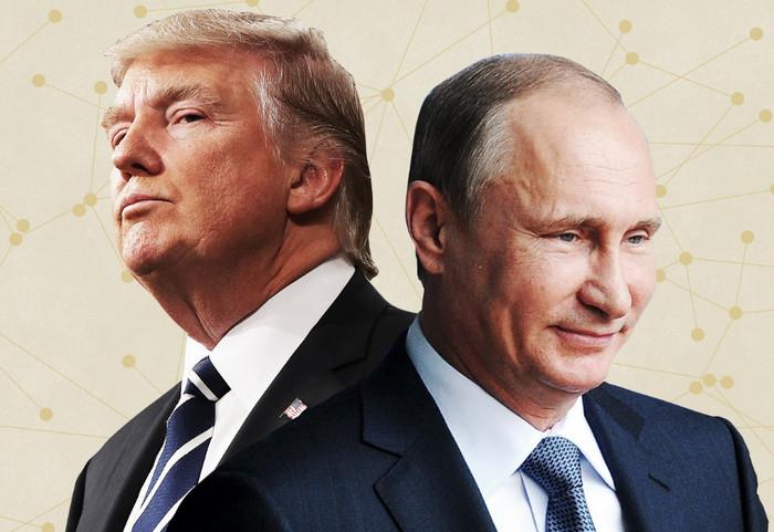 Саммит Путин — Трамп