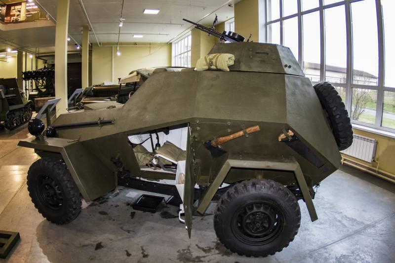 Рассказы об оружии. Бронеавтомобиль БА-64Б