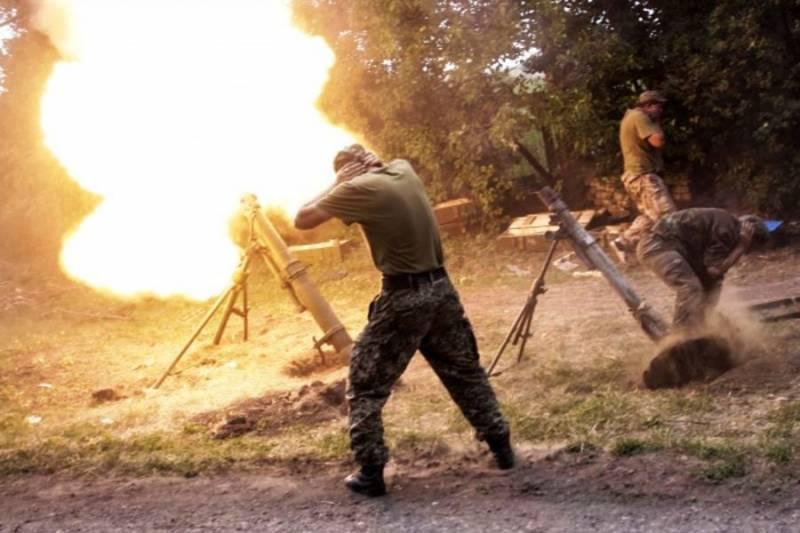 ВСУ продолжают артобстрел ДНР и ЛНР. Активизировались украинские диверсионные группы