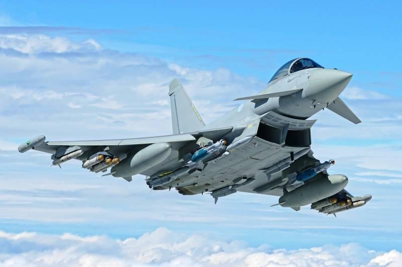 National Interest: Су-35 проиграет «Тайфуну» в «воздушной войне за Европу»
