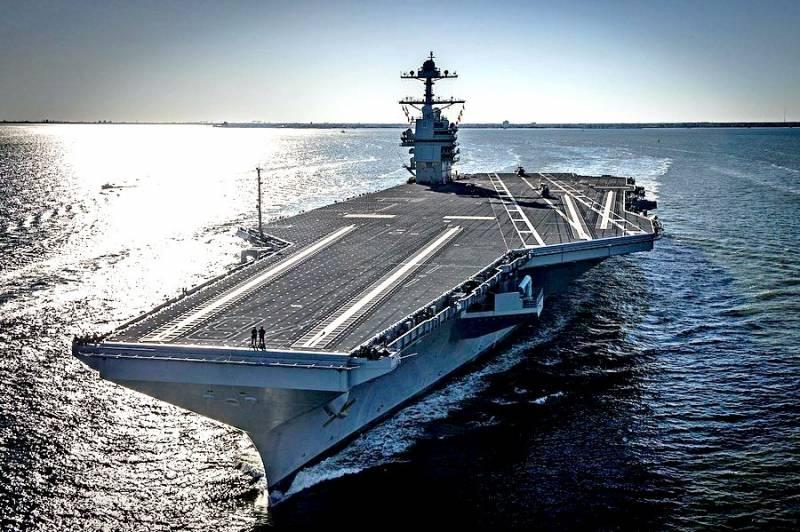 """""""Цирконы"""" отправят на дно новейший авианосец США"""