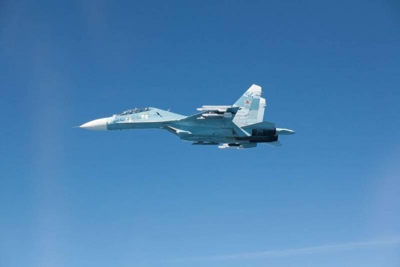 Ответная демонстрация: ВКС России показали свою мощь над Балтикой