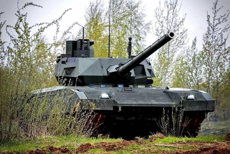"""Т-14 """"Армата"""": самый защищенный танк в мире"""