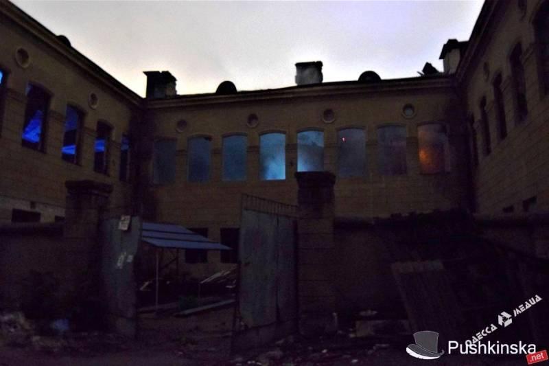 В здании будущего штаба ВМС Украины произошел взрыв
