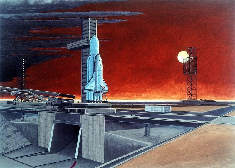 Проект ракеты-носителя сверхтяжелого класса «Энергия-5В»