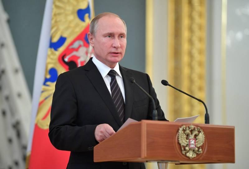 Путин: зарубежные спецслужбы поддерживают терроризм