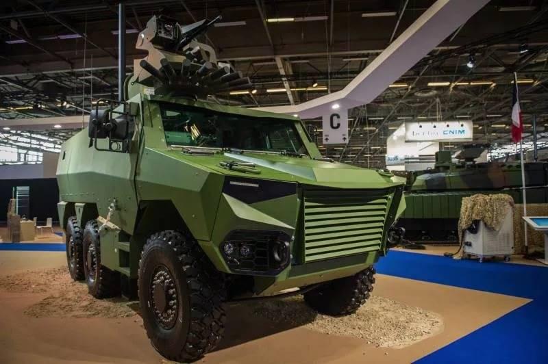 Бельгия планирует закупить французские бронемашины Jaguar и Griffon