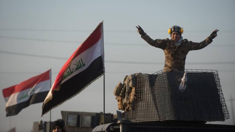 Иракские военные отбили у боевиков два района западного Мосула