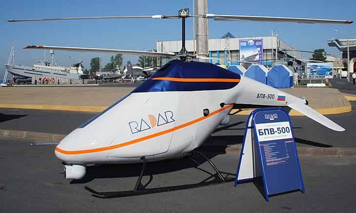 В Санкт-Петербурге представлен новый БПЛА вертолетного типа БПВ-500