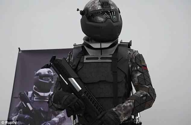 """Daily Mail сравнила экипировку российского солдата будущего со штурмовиком из """"Звездных войн"""""""