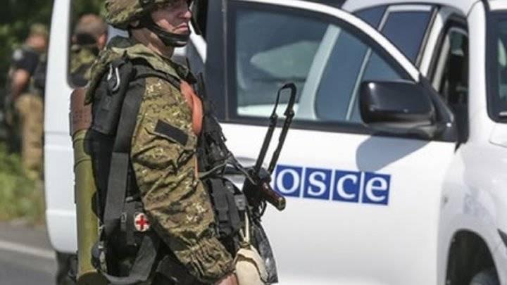 ДНР: Информация о передвижениях ОБСЕ передается ВСУ