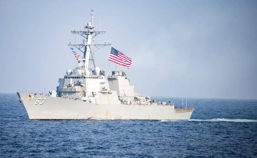 Китайская народная республика враждебно встретил американский эсминец вЮжно-Китайском море