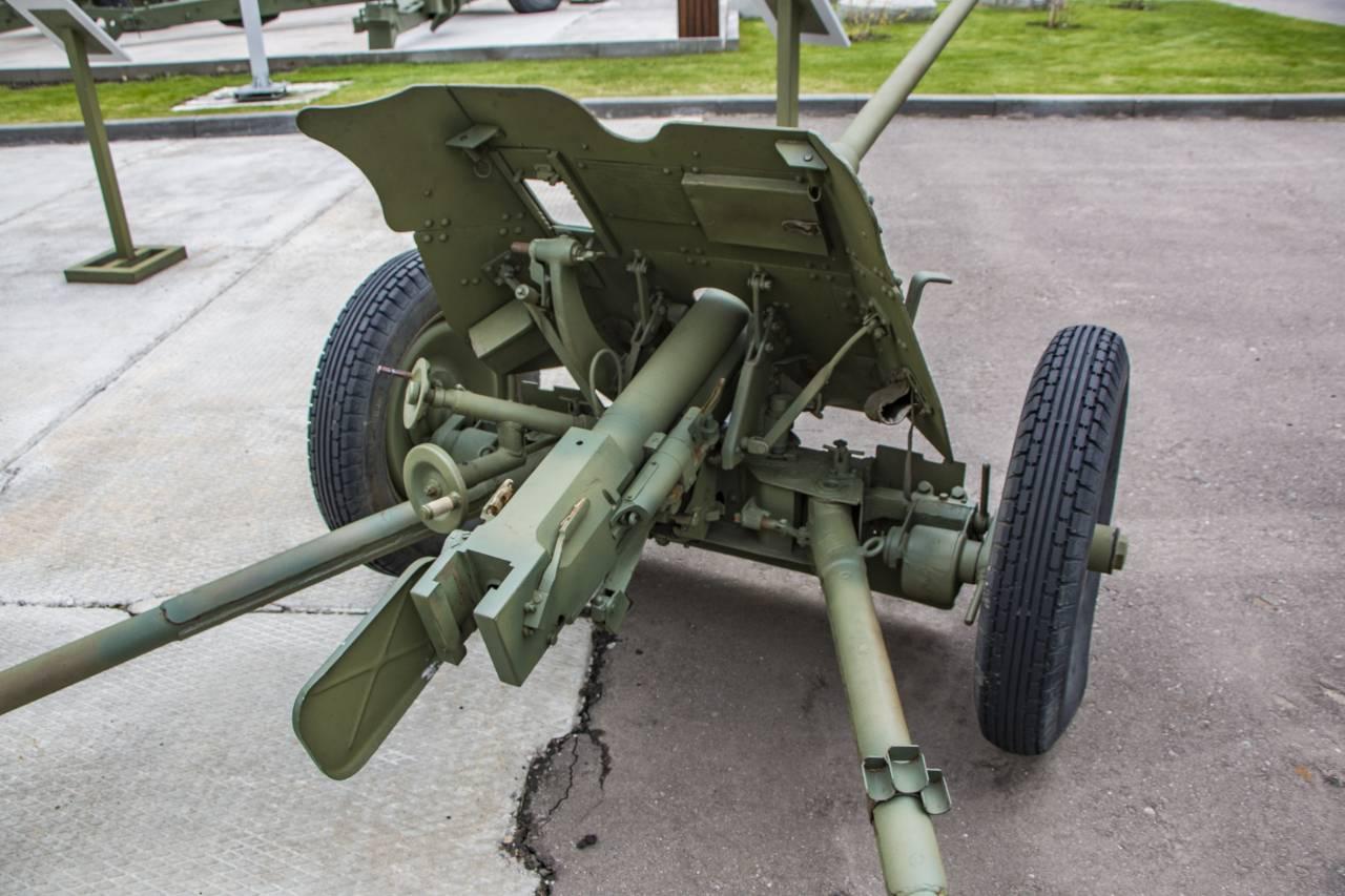 Фото пушки сорокопятки