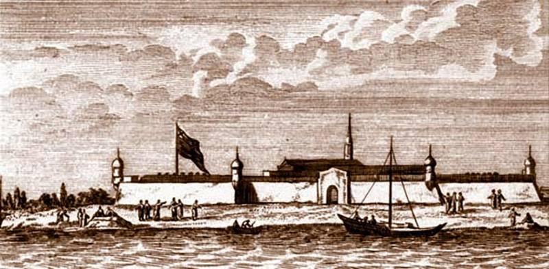 Шведские злоключения у Новодвинской крепости