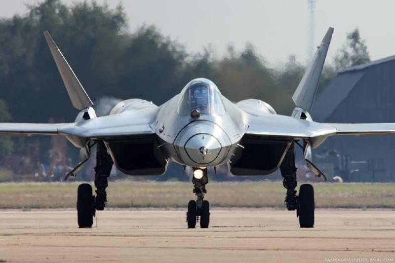 Российский истребитель пятого поколения Т-50 вышел на завершающие испытания
