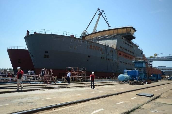 Crimea में परियोजना 15310 के जहाजों के निर्माण का विवरण