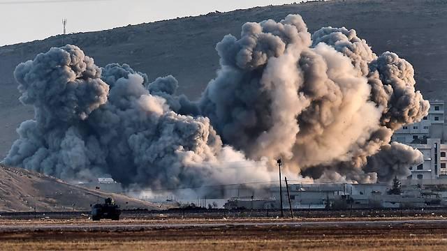 Девять мирных граждан погибли при ударе коалиции США вСирии