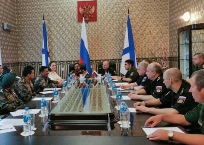 """在Primorye将确定联合演习""""INDRA-2017""""所涉及的力量和手段的组成"""