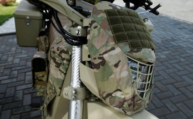 Концерн «Калашников» разработает военную модель мотоцикла